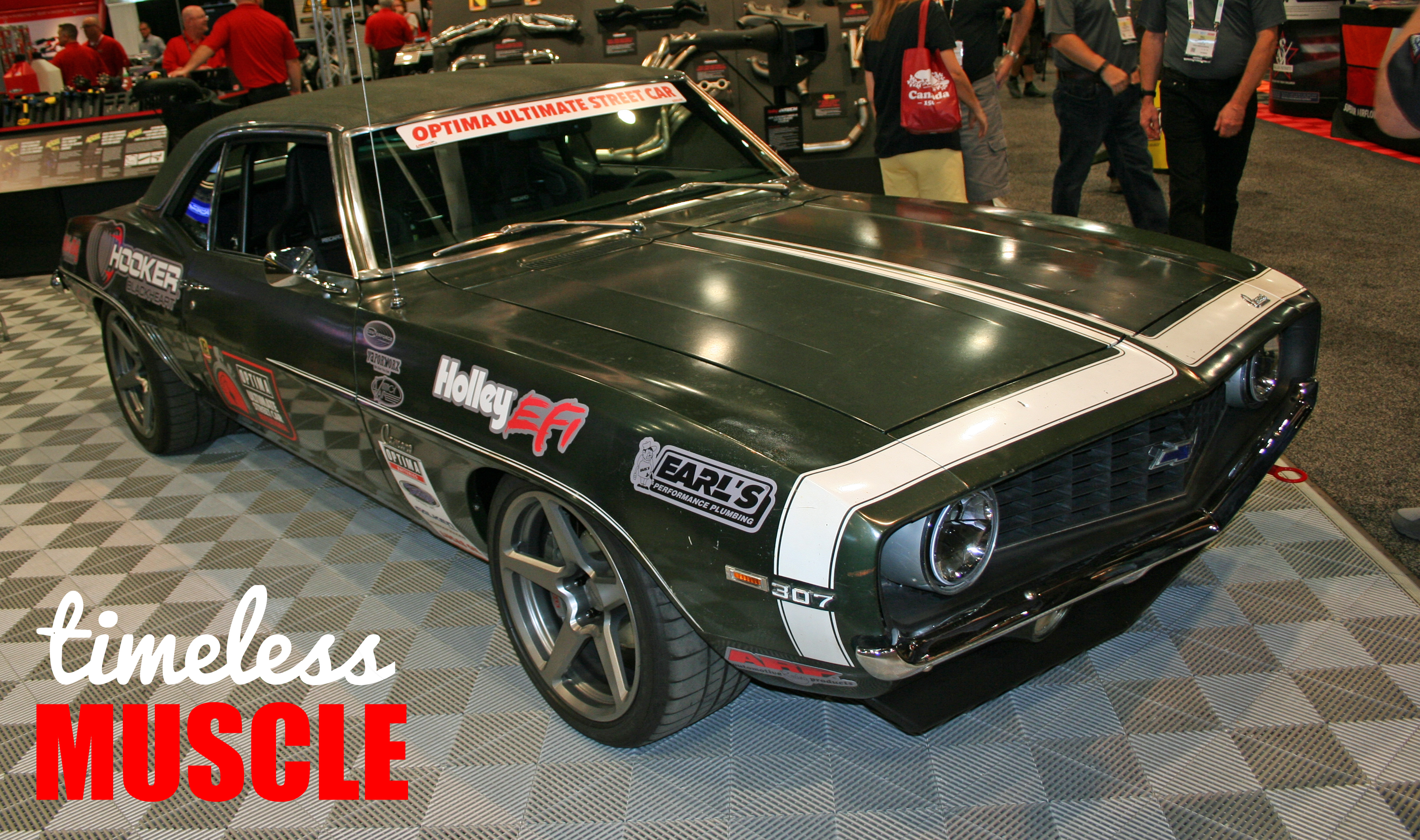 Timeless Muscle Magazine