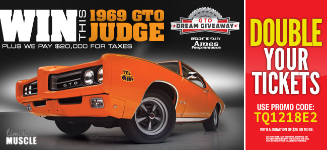 Dream Giveaway Announces the 1969 GTO Judge | AutoCentric Media